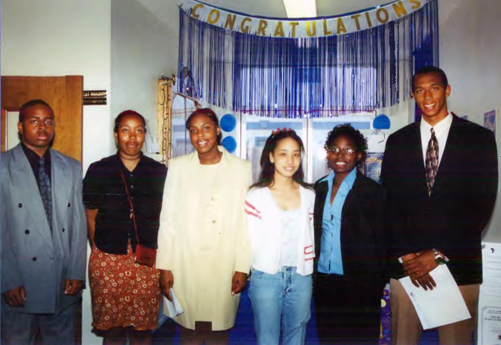 AACHS scholarship recipients in 2002