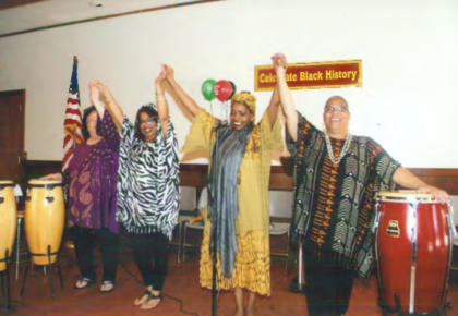 Performers At A Black History Month Celebration In Union City