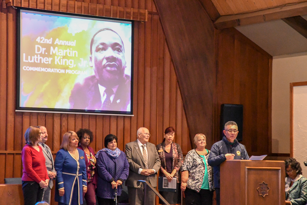 Public Officials Give Remarks At The 2019 Dr. King Celebration